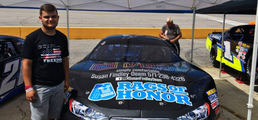 Jonathan Findley Welcomes New Sponsor, Rags of Honor