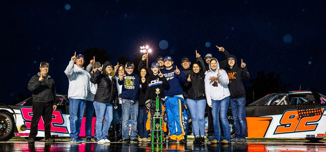 Dylan Zampa Triumphant In Madera Pro Late Model Debut