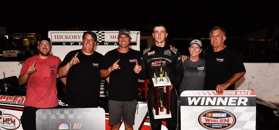 Nolan Pope Victorious At Historic Hickory Motor Speedway