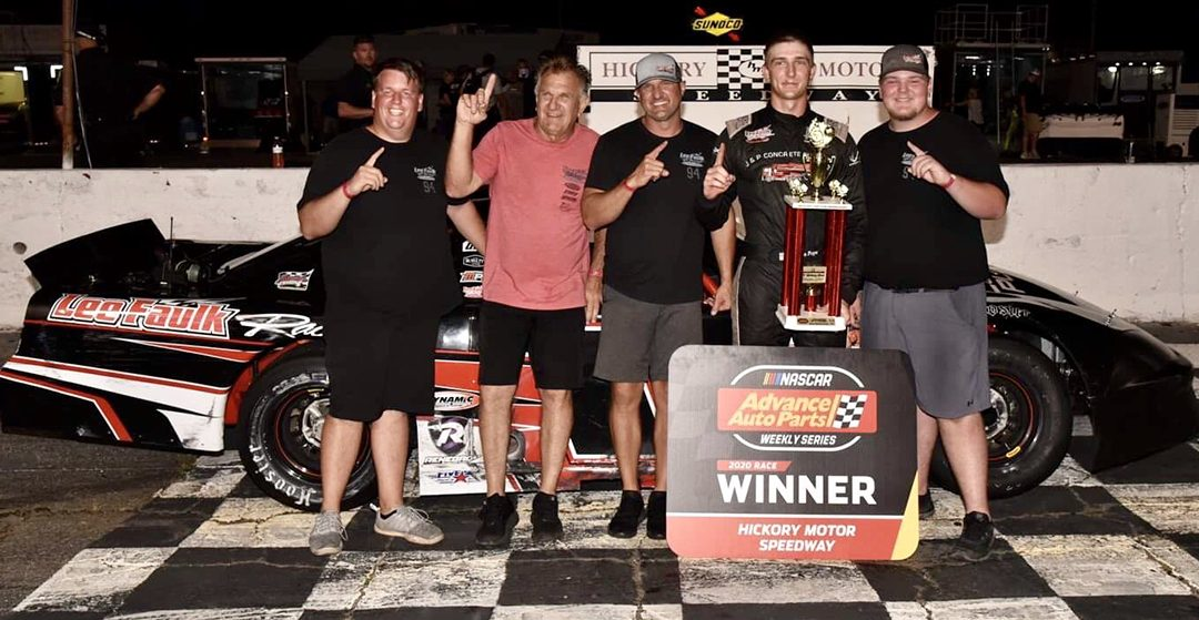 Nolan Pope Back In Victory Lane After Hickory Triumph