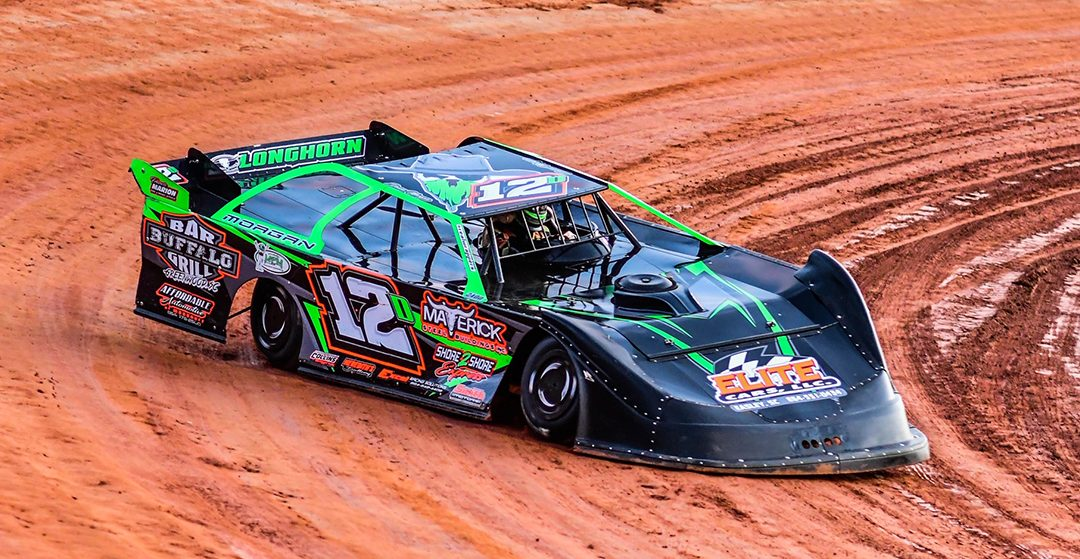 Devon Morgan Visits Victory Lane At Harris Speedway
