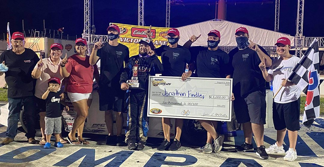 Jonathan Findley Scores Hometown Victory With CARS Tour At Dominion
