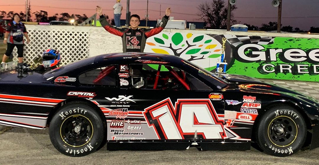 Kody King Scores First Stock Car Victory